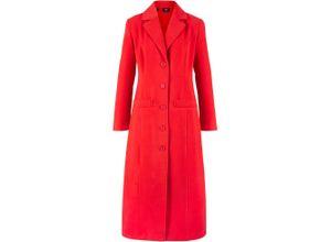 Mantel langarm in rot für Damen von bonprix