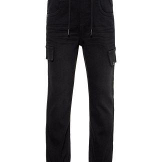 NAME IT Baggy Fit Jeans Herren Schwarz