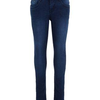 NAME IT Bio-baumwoll Slim Fit Jeans Herren Blau