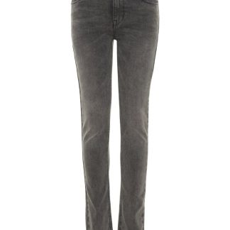 NAME IT Five-pocket Skinny Fit Jeans Herren Grau