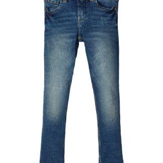 NAME IT Power Stretch Slim Fit Jeans Herren Blau