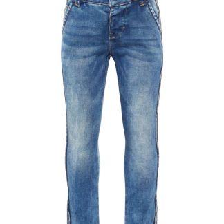 NAME IT Skinny Fit Super-stretch Jeans Herren Blau