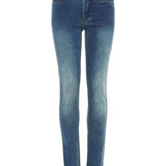 NAME IT Sweatdenim Skinny Fit Jeans Herren Blau