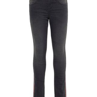 NAME IT X-slim Fit Seitenstreifen Jeans Herren Grau