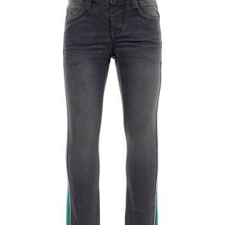 NAME IT X-slim-power-stretch Jeans Herren Grau