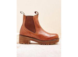 Ten Points Damen Stiefeletten Minou braun Boots