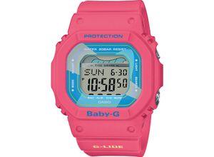 CASIO Damenuhr Casio Damen-Uhren Digital Quarz, Pink, EAN: 4549526222559