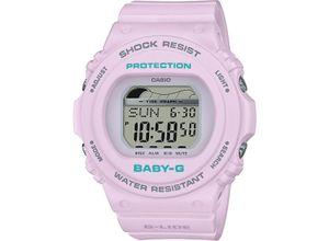 CASIO Damenuhr Casio Damen-Uhren Digital Quarz, violett, EAN: 4549526222658