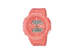 Casio Damen-Uhren Analog, digital Quarz, Rosa, EAN: 4549526189234