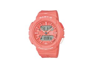 Casio Damen-Uhren Analog, digital Quarz, Rosa, EAN: 4549526189234