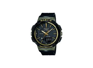 Casio Damen-Uhren Analog, digital Quarz, schwarz, EAN: 4549526171680