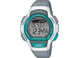 Casio Damen-Uhren Digital Quarz, grau, EAN: 4549526214097