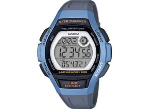 Casio Damen-Uhren Digital Quarz, grau, EAN: 4549526214172