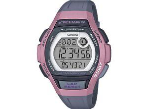 Casio Damen-Uhren Digital Quarz, grau, EAN: 4549526214219