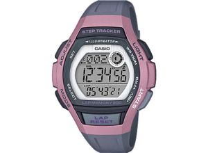 Casio Damen-Uhren Digital Quarz, grau, EAN: 4549526214219