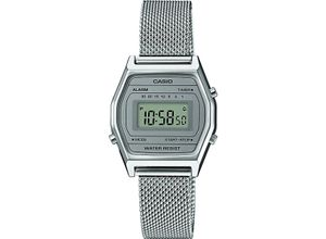 Casio Damen-Uhren Digital Quarz, silber, EAN: 4549526202476