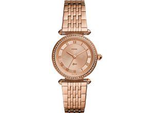 FOSSIL Damenuhr Fossil Damen-Uhren Quarz, roségold, EAN: 4013496797824
