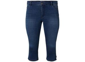 Junarose Jeans Five Mathilda medium blue denim, Gr. 42 - Damen Jeans