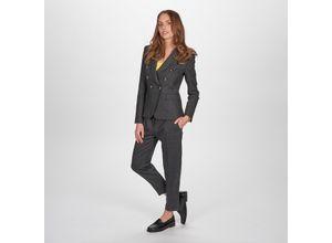 Pinko Karo-Anzughose oder -Blazer, 34 - Schwarz/Grau - Anzughose
