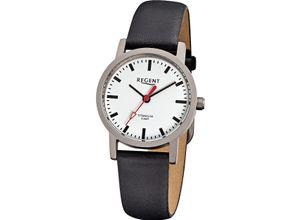 Regent Damenuhr Regent Damen-Uhren Analog Quarz, schwarz, EAN: 4045346026631