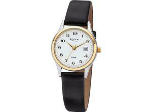 Regent Damenuhr Regent Damen-Uhren Analog Quarz, schwarz, EAN: 4045346060895