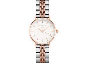 Rosefield Damen-Uhren Analog Quarz, silber, EAN: 8720039334014