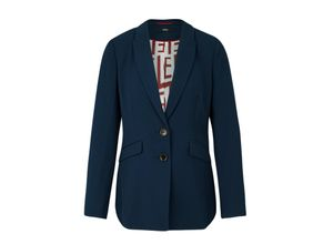 S.oliver Black Label Blazer blau, Gr. 34 - Damen Blazer