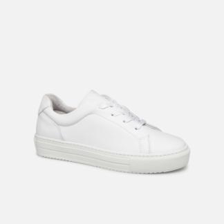 SALE -20 Vero Moda - Vmana Leather Sneaker Wide - SALE Sneaker für Damen / weiß