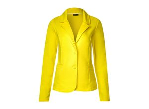 Street One Blazer Rhoda sunshine yellow, Gr. 44 - Damen Blazer