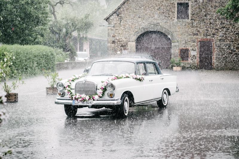 Hochzeit im Regen  Holger Blechschmidt