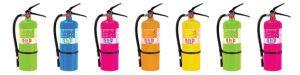 Extincteur poudre holi poudre couleur poudre colorée sûr et certifié