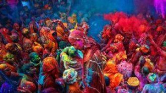 Festival Holi des couleurs Inde