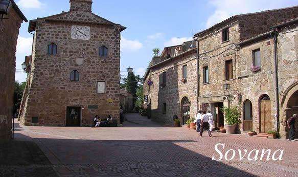 Guia de la Maremma en Toscana que visitar en Sovana