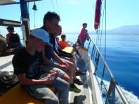 Sailling-on-Crete-greece