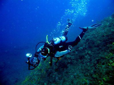 Diving PADI in Crete Greece