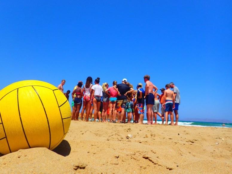 Beach party Crete