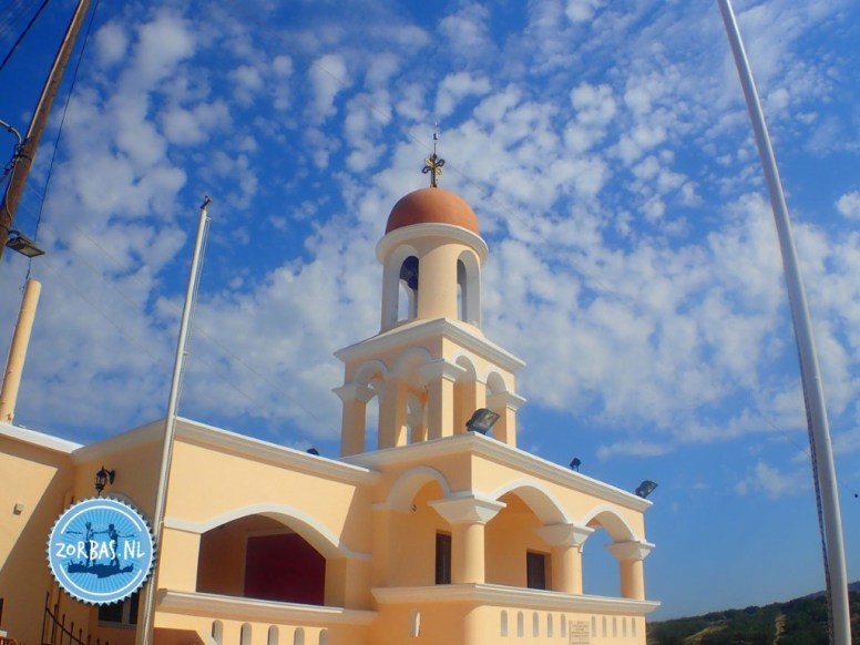 Rural Crete inland churches