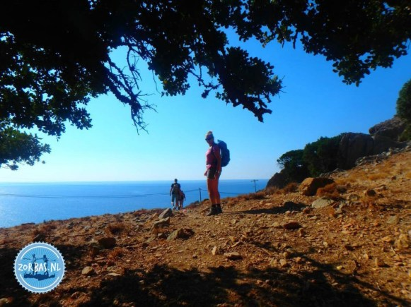 Different hiking routes Crete summer 2021