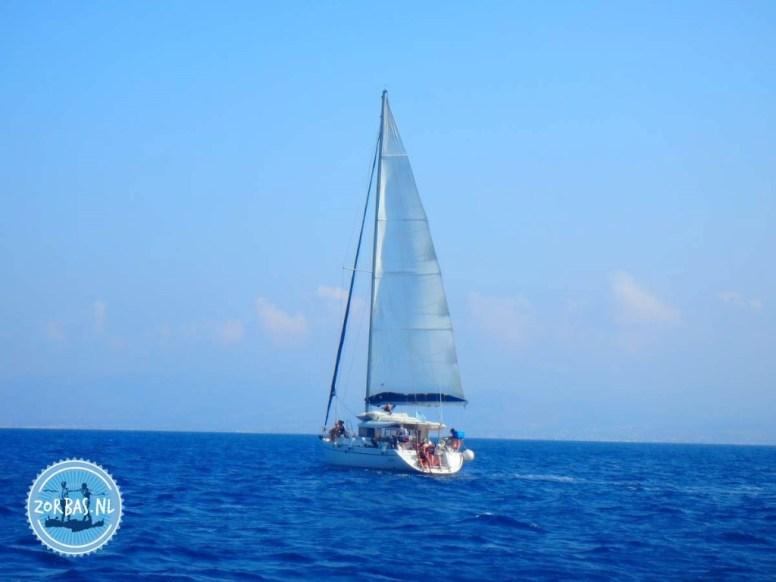 Sail from Heraklion to Dia