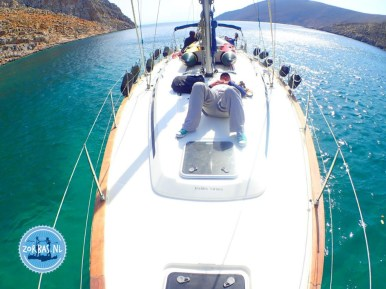 Sailing from Crete to Santorini