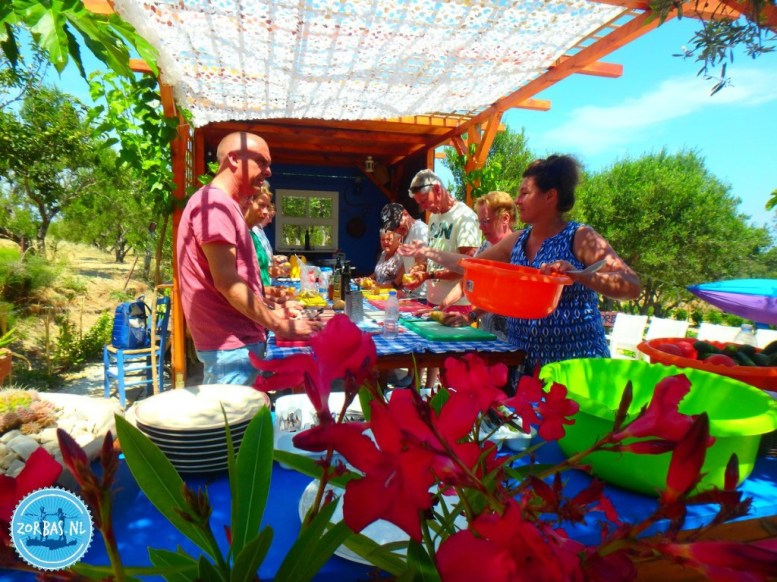 Excursions on Crete cooking workshop in the mountains