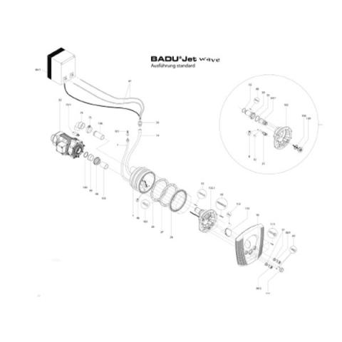 Ersatzteile Gegenstromanlagen, Gegenstromanlage Badu Jet