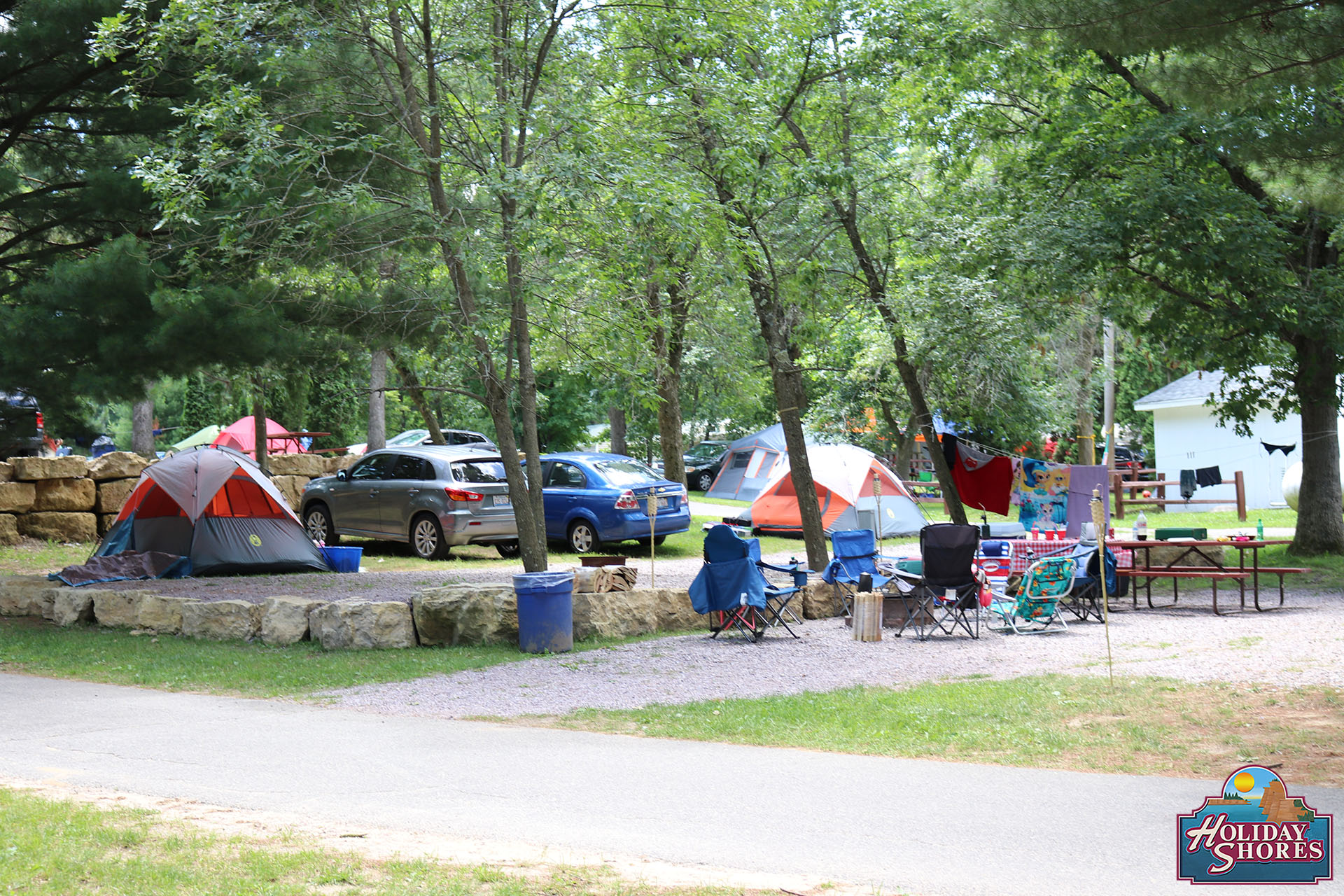 Stay With Us Holiday Shores Wisconsin Dells Camping