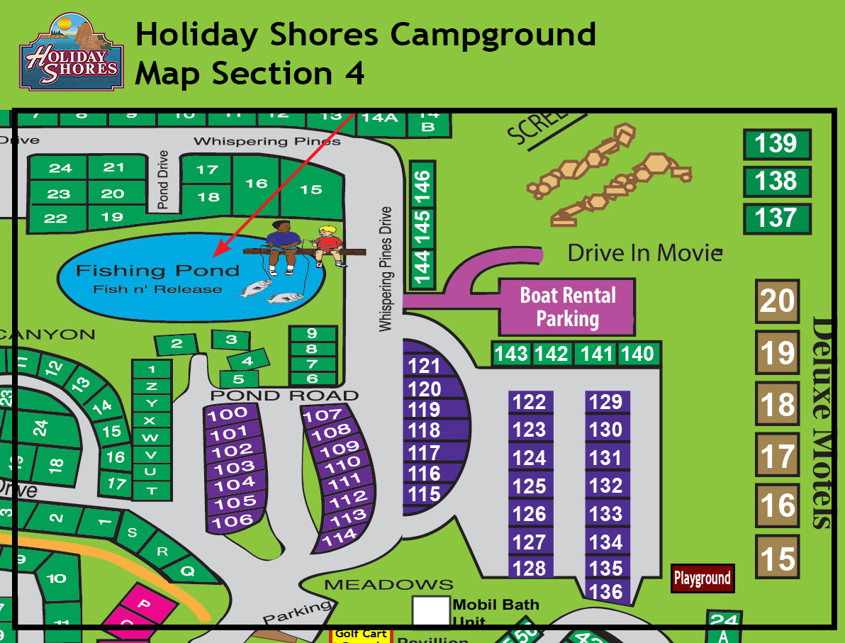 Resort Map Section 4