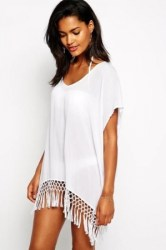 Cover Up Wit Seafoldy Tassel - main
