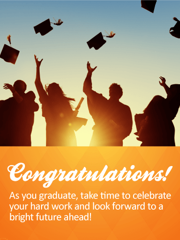 Take Time To Celebrate! Graduation Cards Birthday