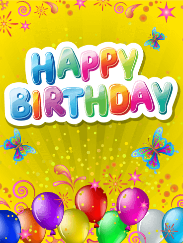 Pop & Fun Happy Birthday Card Birthday & Greeting Cards