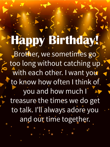I'll Always Adore You! Happy Birthday Wishes Card For