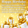 To My Precious Friends Happy Birthday Wishes Card For