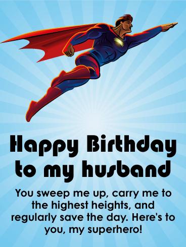 Powerful Happy Birthday Wishes Card For Husband Birthday